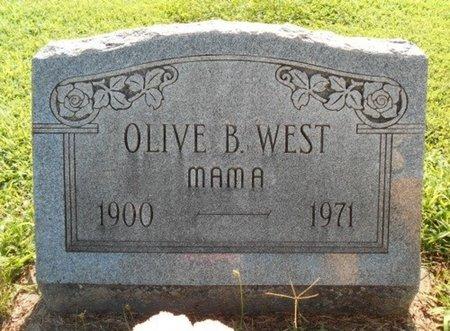 WEST, OLIVE B. - Howell County, Missouri | OLIVE B. WEST - Missouri Gravestone Photos