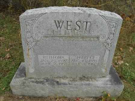WEST, RUTH OMA - Howell County, Missouri | RUTH OMA WEST - Missouri Gravestone Photos