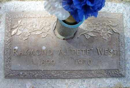 """WEST, RAYMOND ANDREW """"PETE"""" - Howell County, Missouri 