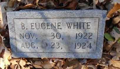 WHITE, BENJAMIN EUGENE - Howell County, Missouri   BENJAMIN EUGENE WHITE - Missouri Gravestone Photos