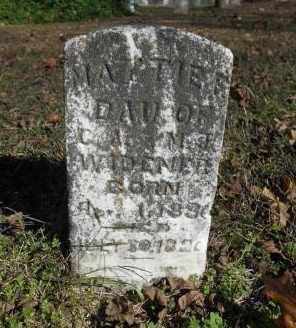 WIDENER, MATTIE - Howell County, Missouri | MATTIE WIDENER - Missouri Gravestone Photos