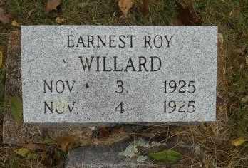WILLARD, EARNEST ROY - Howell County, Missouri | EARNEST ROY WILLARD - Missouri Gravestone Photos