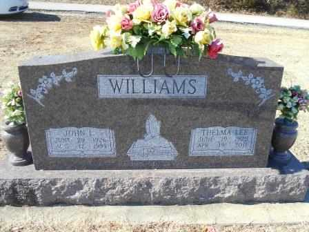 WILLIAMS, JOHN L. - Howell County, Missouri | JOHN L. WILLIAMS - Missouri Gravestone Photos