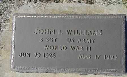 WILLIAMS, JOHN L.  VETERAN WWII - Howell County, Missouri   JOHN L.  VETERAN WWII WILLIAMS - Missouri Gravestone Photos