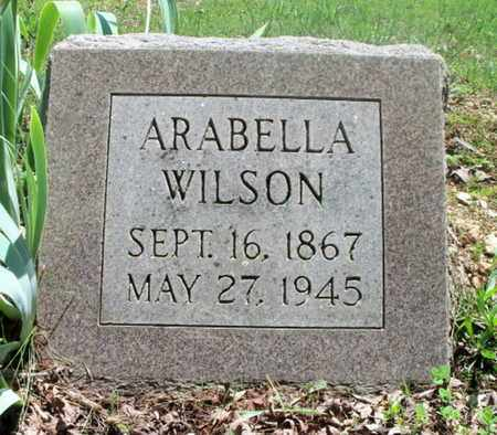 WILSON, ARABELLA - Howell County, Missouri | ARABELLA WILSON - Missouri Gravestone Photos