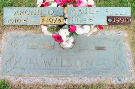 WILSON, MAUDE BELLE - Howell County, Missouri | MAUDE BELLE WILSON - Missouri Gravestone Photos