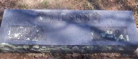 WILSON, BERT O - Howell County, Missouri | BERT O WILSON - Missouri Gravestone Photos