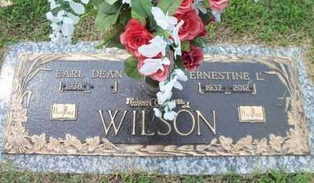 WILSON, ERNESTINE L. - Howell County, Missouri | ERNESTINE L. WILSON - Missouri Gravestone Photos