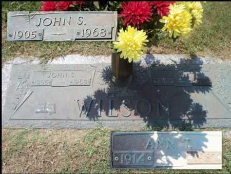 WILSON, JOHN SHERMAN - Howell County, Missouri | JOHN SHERMAN WILSON - Missouri Gravestone Photos