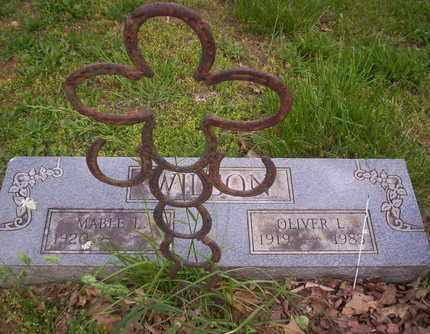 WILSON, OLIVER - Howell County, Missouri | OLIVER WILSON - Missouri Gravestone Photos