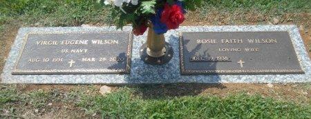 WILSON, VIRGIL EUGENE VETERAN - Howell County, Missouri | VIRGIL EUGENE VETERAN WILSON - Missouri Gravestone Photos