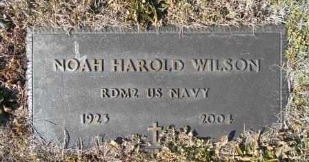 WILSON, NOAH HAROLD VETERAN - Howell County, Missouri | NOAH HAROLD VETERAN WILSON - Missouri Gravestone Photos