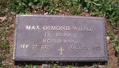 WILSON, MAX VETERAN WWII - Howell County, Missouri | MAX VETERAN WWII WILSON - Missouri Gravestone Photos
