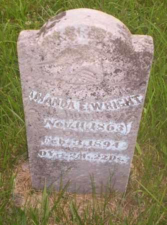 WRIGHT, AMANDA - Howell County, Missouri | AMANDA WRIGHT - Missouri Gravestone Photos