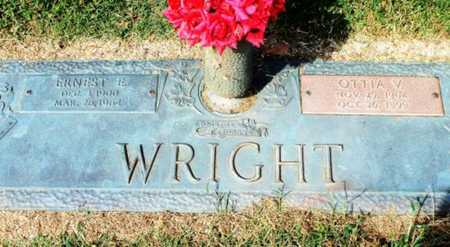 WRIGHT, OTTIA V. - Howell County, Missouri | OTTIA V. WRIGHT - Missouri Gravestone Photos