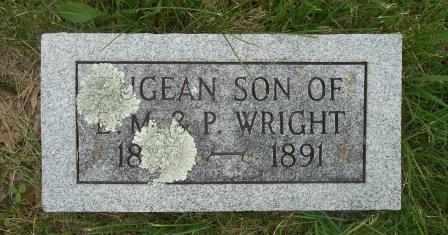 WRIGHT, EUGEAN - Howell County, Missouri | EUGEAN WRIGHT - Missouri Gravestone Photos