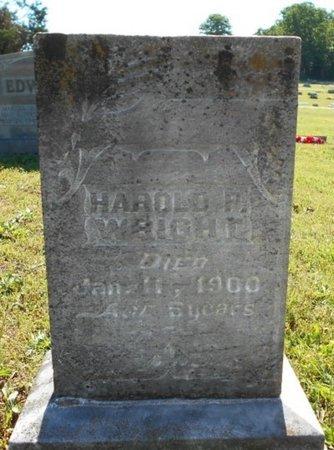 WRIGHT, HAROLD P. - Howell County, Missouri   HAROLD P. WRIGHT - Missouri Gravestone Photos