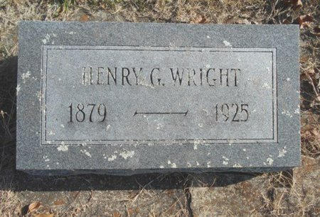 WRIGHT, HENRY G. - Howell County, Missouri | HENRY G. WRIGHT - Missouri Gravestone Photos