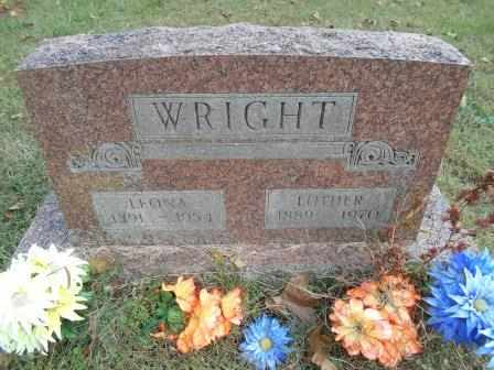 WRIGHT, LUTHER - Howell County, Missouri | LUTHER WRIGHT - Missouri Gravestone Photos