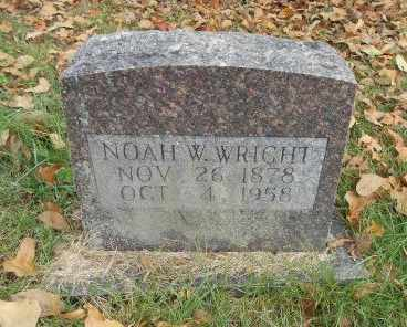 WRIGHT, NOAH WYATT - Howell County, Missouri | NOAH WYATT WRIGHT - Missouri Gravestone Photos