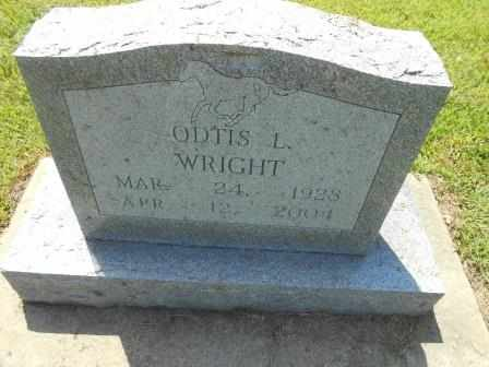 WRIGHT, ODTIS L - Howell County, Missouri | ODTIS L WRIGHT - Missouri Gravestone Photos