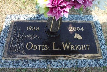 WRIGHT, ODTIS L. - Howell County, Missouri | ODTIS L. WRIGHT - Missouri Gravestone Photos