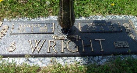 WRIGHT, RICHARD J. VETERAN - Howell County, Missouri | RICHARD J. VETERAN WRIGHT - Missouri Gravestone Photos