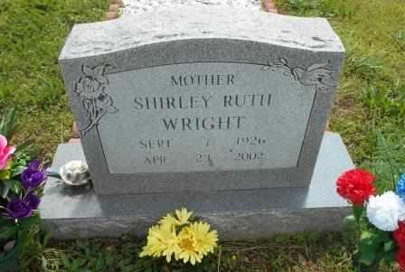 WRIGHT, SHIRLEY RUTH - Howell County, Missouri | SHIRLEY RUTH WRIGHT - Missouri Gravestone Photos
