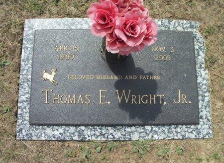 WRIGHT, THOMAS E., JR. - Howell County, Missouri | THOMAS E., JR. WRIGHT - Missouri Gravestone Photos