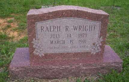 WRIGHT, RALPH VETERAN WWII - Howell County, Missouri | RALPH VETERAN WWII WRIGHT - Missouri Gravestone Photos