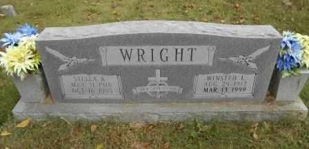 SMITH WRIGHT, STELLA - Howell County, Missouri | STELLA SMITH WRIGHT - Missouri Gravestone Photos
