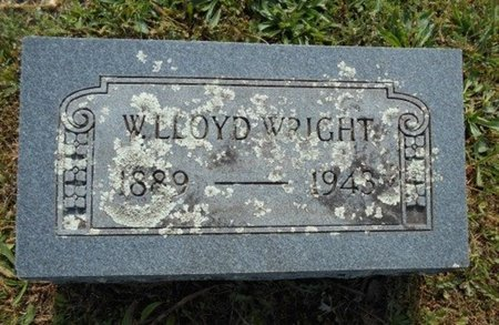 WRIGHT, W. LLOYD - Howell County, Missouri | W. LLOYD WRIGHT - Missouri Gravestone Photos