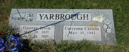 YARBROUGH, GEORGE IRVIN - Howell County, Missouri | GEORGE IRVIN YARBROUGH - Missouri Gravestone Photos