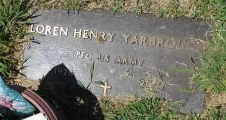 YARBROUGH, LORENE HENRY  VETERAN - Howell County, Missouri | LORENE HENRY  VETERAN YARBROUGH - Missouri Gravestone Photos