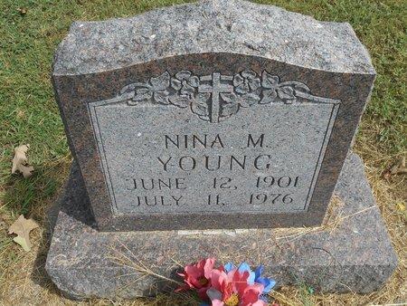 YOUNG, NINA M - Howell County, Missouri | NINA M YOUNG - Missouri Gravestone Photos