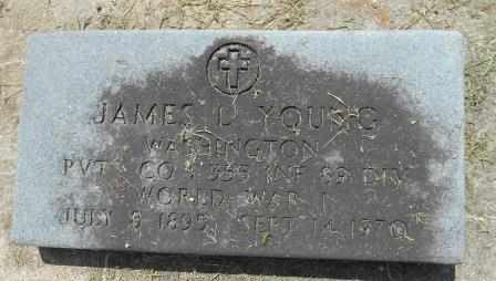 YOUNG, JAMES VETERAN WWII - Howell County, Missouri | JAMES VETERAN WWII YOUNG - Missouri Gravestone Photos