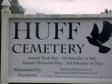 *, CEMETERY SIGN - Iron County, Missouri   CEMETERY SIGN * - Missouri Gravestone Photos