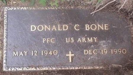BONE, DONALD C VETERAN - Iron County, Missouri | DONALD C VETERAN BONE - Missouri Gravestone Photos