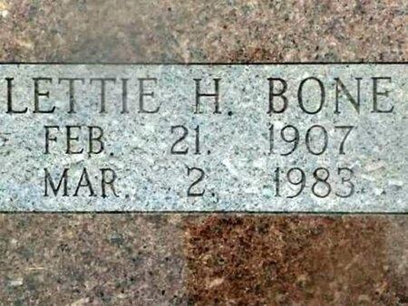 "BONE, HELENA COLETTA ""LETTIE"" - Iron County, Missouri | HELENA COLETTA ""LETTIE"" BONE - Missouri Gravestone Photos"