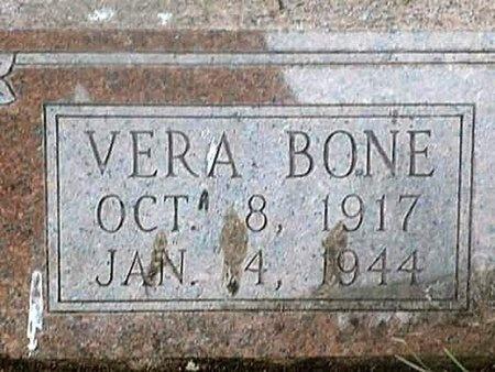 BONE, VERA - Iron County, Missouri   VERA BONE - Missouri Gravestone Photos