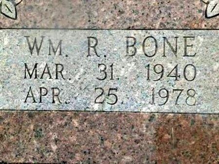 BONE, WILLIAM R - Iron County, Missouri | WILLIAM R BONE - Missouri Gravestone Photos