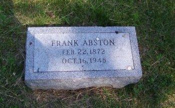 ABSTON, FRANK - Jackson County, Missouri   FRANK ABSTON - Missouri Gravestone Photos