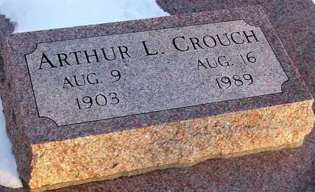 CROUCH, ARTHUR L - Jackson County, Missouri   ARTHUR L CROUCH - Missouri Gravestone Photos