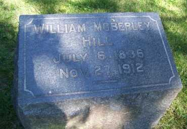 HILL, WILLIAM MOBERLEY (VETERAN CSA) - Jackson County, Missouri | WILLIAM MOBERLEY (VETERAN CSA) HILL - Missouri Gravestone Photos
