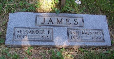 RALSTON JAMES, ANN - Jackson County, Missouri | ANN RALSTON JAMES - Missouri Gravestone Photos