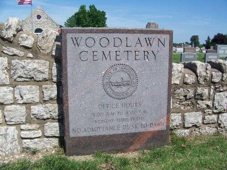 *, CEMETERY SIGN - Jackson County, Missouri | CEMETERY SIGN * - Missouri Gravestone Photos