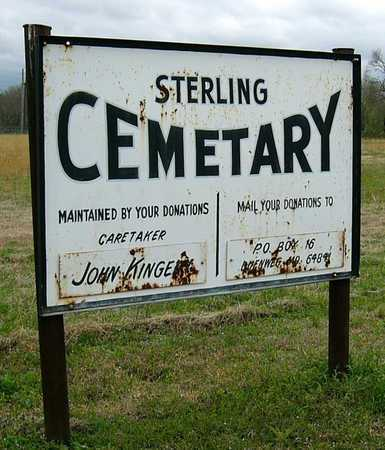 *, CEMETERY SIGN - Jasper County, Missouri | CEMETERY SIGN * - Missouri Gravestone Photos