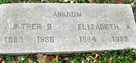 ANKRUM, ELIZABETH A. - Jasper County, Missouri | ELIZABETH A. ANKRUM - Missouri Gravestone Photos
