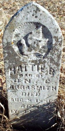 ARRASMITH, HATTIE B - Jasper County, Missouri | HATTIE B ARRASMITH - Missouri Gravestone Photos