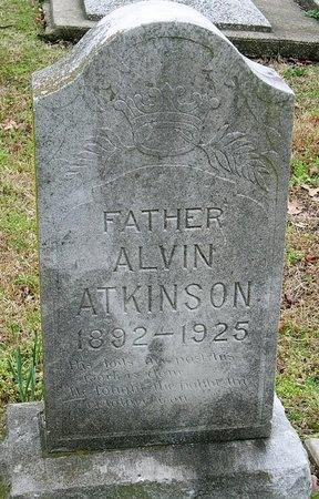 ATKINSON, ALVIN - Jasper County, Missouri | ALVIN ATKINSON - Missouri Gravestone Photos